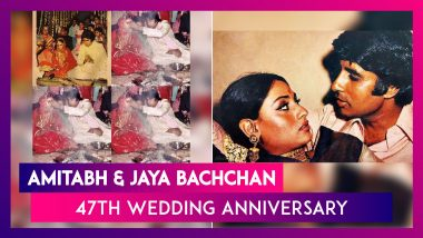 Amitabh Bachchan Celebrates 47 Years Of Marriage, Shares Wedding Photos And An Interesting Anecdote
