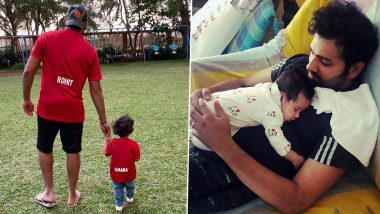 Father's Day 2020: These 10 Photos of Rohit Sharma With Daughter Samaira Are a Proof That Hitman Is One Adorable Dad