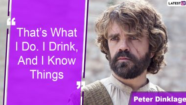 Peter Dinklage Birthday: 6 Best Tyrion Lannister Quotes From Game Of Thrones That You'll Always Remember (View Pics)