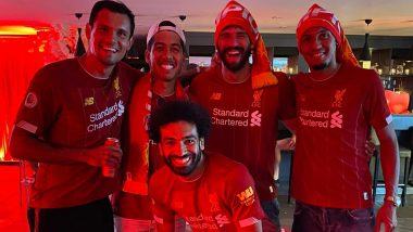 Here's How Liverpool Players Celebrated First Premier League Title in Club's History (See Photos and Videos)
