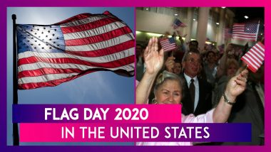 Flag Day (US) 2020: Know About the Observance That Commemorates Adoption of the American Flag