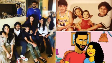 Arjun Kapoor Birthday: Revisiting Actor's Adorable Moments With His Sisters That Prove He's Coolest Bro Ever! (View Pics)