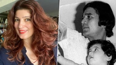 Father's Day 2020: Twinkle Khanna Remembers Dad Rajesh Khanna and Pens a Heartfelt Note in His Memory (View Post)