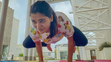 Samantha Akkineni Reveals the Reason She Loves Doing Yoga (View Post)