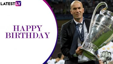 Happy Birthday Zinedine Zidane: Major Career Achievements of the Frenchman As Real Madrid Manager