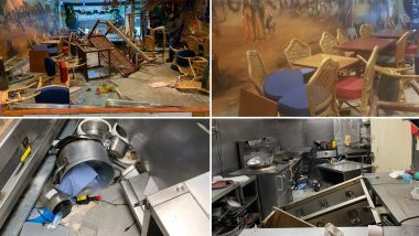 Indian-Origin UK Citizen Slams Indians for Supporting #BlackLivesMatter Movement, Shares Images of Gujarati Restaurant Meera's Village in Wembley Ransacked by BLM Protesters