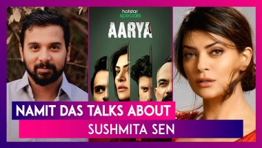 Namit Das on Working With Sushmita Sen in Aarya: 'She Has a Homely Vibe'