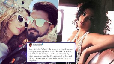 Hina Khan's Boyfriend Rocky Jaiswal Lashes Out At Sonam Kapoor For Her 'Privilege & Karma' Gyaan In Her Father's Day Tweet