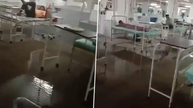 Gujarat: Congress Attacks State Govt After Basement COVID-19 Facility in Surat Floods, Shares Video on Social Media