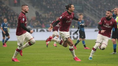 Lecce vs AC Milan, Serie A 2019–20 Free Live Streaming Online & Match Time in IST: How to Get Live Telecast on TV & Football Score Updates in India?