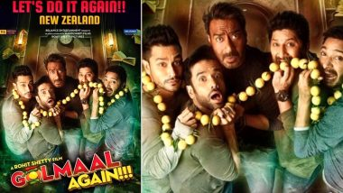Ajay Devgn's Golmaal Again Becomes the First Bollywood Film to Re-Release in New Zealand Theatres!