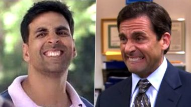 Akshay Kumar As Michael Scott in This Funny Twitter Thread Will Leave You in Splits; Netizens Laugh at the Striking Similarity (See Pictures)