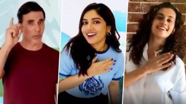 Dhakk Dhakk Dharti: Akshay Kumar, Bhumi Pednekar, Taapsee Pannu and Others Unite for a Musical Plea to Make Mother Nature Greener on World Environment Day 2020 (Watch Video)