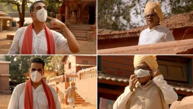 Unlock-1: Akshay Kumar Urges Fans To Wear Mask, Follow Social Distancing Norms and Contribute Towards 'Atmanirbhar Bharat' (Watch Video)