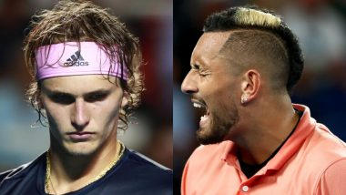 Nick Kyrgios Hits Out at 'Selfish' Alexander Zverev, Says 'Tennis World Is Pissing Me Off' After German Player's Viral Party Video Surfaces Online