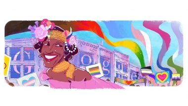 Marsha P. Johnson Google Doodle Celebrates The LGBTQ+ Activist During Pride Month With Colours of the Rainbow