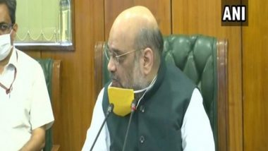 Amit Shah Reviews COVID-19 Situation in His Lok Sabha Constituency Gandhinagar in Gujarat