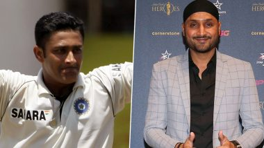 Harbhajan Singh Hails Anil Kumble As the Greatest Cricketer Ever to Have Played for India