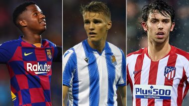 La Liga Restart: Ansu Fati, Martin Odegaard, Joao Felix and Other Youngsters to Watch Out for As 2019–20 Season Resumes