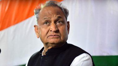 Rajasthan Political Crisis: Sachin Pilot Playing into the Hands of BJP, Says Ashok Gehlot