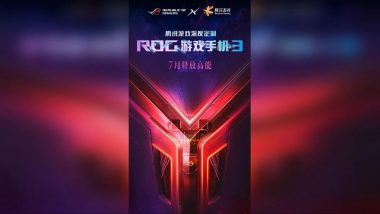 ASUS ROG Phone 3 to Be Powered by Qualcomm Snapdragon 865+ SoC