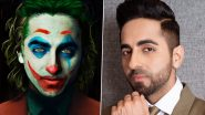 Ayushmann Khurrana Wants to Step Into the Shoes of 'Joker'; Time for Some Grey Shades in His Everyday Characters? (View Tweet)