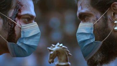 The Legendary Face-Off Between Prabhas As Baahubali and Rana Daggubati As Bhallaladeva Gets a COVID-19 Twist (Watch Video)