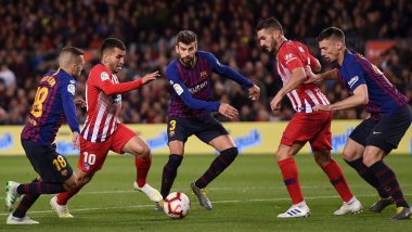 Atletico Madrid vs Barcelona, La Liga 2020-21 Free Live Streaming Online & Match Time in IST: How to Get Live Telecast on TV & Football Score Updates in India?