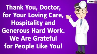 Thank You Messages For Frontline Warriors: Motivational Quotes, HD Images, GIFS and Notes of Gratitude to Send to COVID-19 Health Workers, Doctors and Nurses