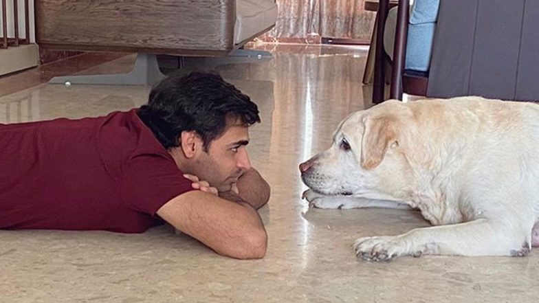'Buddies Then and Now': Bhuvneshwar Kumar Shows Friendship Bond He Shares With Pet Dog Alex in Cute Instagram Pictures (See Post)