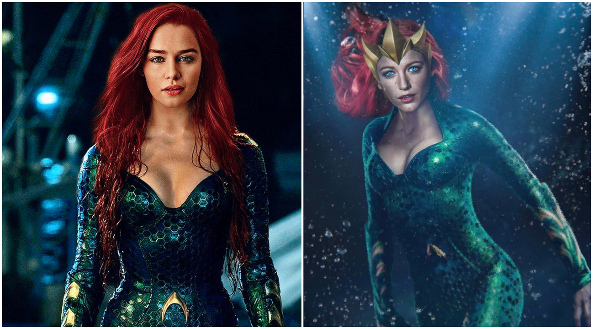 Aquaman 2: Fan Art Pits Blake Lively Against Emilia Clarke For ...
