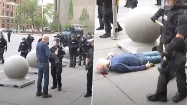 Buffalo Police Suspends 2 Cops Seen in Video Pushing 75-Year-Old Protester to The Ground