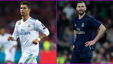 Real Madrid All-Time Top-5 Goalscorers: Cristiano Ronaldo, Karim Benzema and Other Highest Scoring Footballers for Los Blancos