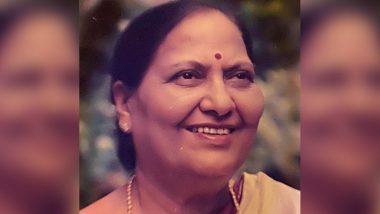 Piyush Goyal's Mother and Senior BJP Leader Chandrakanta Goyal Dies