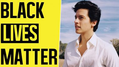 Cole Sprouse Says He Was Arrested at Black Lives Matter Protests Held For George Floyd's Death (View Post)