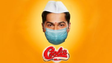 Coolie No 1: Varun Dhawan Wears a Mask in The New Poster and We Hope the Message is Clear Enough!