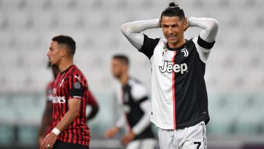 Cristiano Ronaldo Misses Penalty During Juventus vs AC Milan Coppa Italia 2019–20 Semi-Finals, Reignites Messi vs CR7 Debate (See Reactions)
