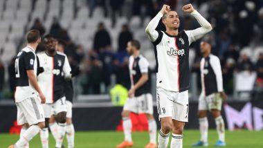 Cristiano Ronaldo's Long-Range Rocket Against Genoa Recorded at 105 KMPH, Juventus Forward's Goal Video Goes Viral