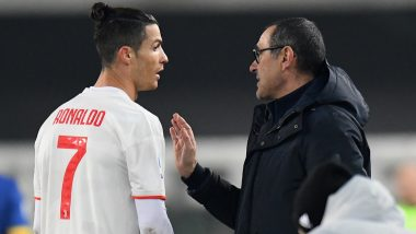 Cristiano Ronaldo Has a Bizarre Reaction After a Conversation with Maurizio Sarri During Juventus vs Torino Goes Viral