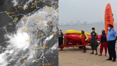 Cyclone Nisarga Update: Eye Diameter of Cyclonic Storm Decreases to 65 KM, Wind Speed to Increase Upto 100-110 KMPH, Says IMD