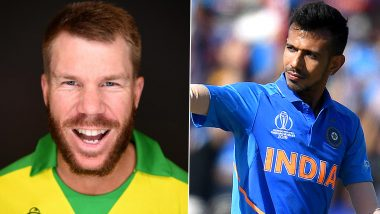 David Warner Requests Yuzvendra Chahal to Make Duet Video on TikTok With Him