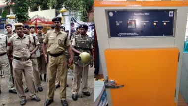 DRDO Develops Uniform Sanitisation Chamber 'GermiKlean' for Delhi Police, Deploys it at Parliament Street Police Station