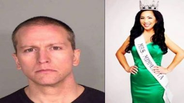 Derek Chauvin's Pageant Wife Kellie Files For Divorce, Says Doesn't Want Even a Penny From 'Killer of George Floyd'