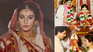 How I Met My Real-Life Ram: Ramayan Fame Dipika Chikhlia Shares Rare Pictures From Her Wedding And She Looks Stunning!