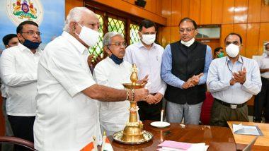 Karnataka CM BS Yediyurappa Inaugurates Rs 220 Crore Airport Project in Shivamogga
