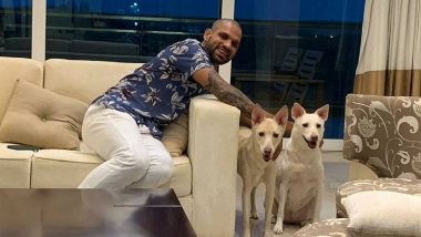 Shikhar Dhawan Adopts Two Dogs, Names Them Chloe and Valentine (See Pics)