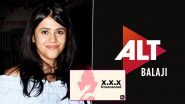 XXX: Uncensored Season 2: Hyderabad-Based Social Activist Files Complaint Against Ekta Kapoor and ALT Balaji For 'Objectionable and Derogatory' Content, Police Dismisses Case Over Lack Of Evidence (Deets Inside)