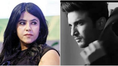 Ekta Kapoor To Hold A Prayer Meet For Late Actor Sushant Singh Rajput On June 18