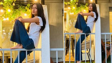 Erica Fernandes Is Giving the Classic White Top Blue Denim a Stay at Home, Stay Chic Spin!