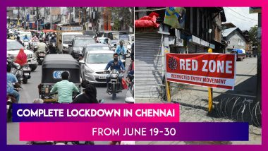 Complete Lockdown In Chennai & Nearby Towns As Tamil Nadu Reimposes Shutdown From June 19 To June 30